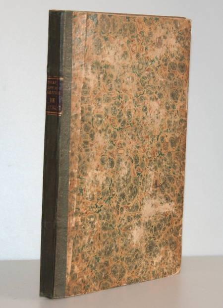 [Cambrai, Cambrésis] Bibliographie cambrésienne - 1822 - Rare - Photo 1 - livre de collection