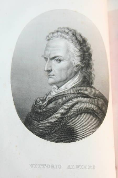 [Italie] Vita di Vittorio Alfieri da Asti - 1847 - Relié - Portrait - Photo 0 - livre rare