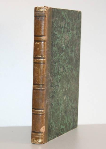[Italie] Vita di Vittorio Alfieri da Asti - 1847 - Relié - Portrait - Photo 2 - livre rare