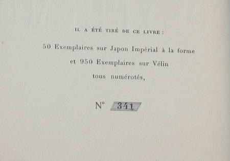 [Fac-simile du Manuscrit] SAMAIN (Charles) - Polyphème - Messein, 1921 - Photo 1 - livre de bibliophilie