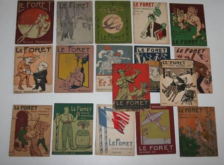 [Humour] Le Foret. Revue de Quincaillerie. 17 volumes - Illustrés - Photo 1, livre rare du XXe siècle