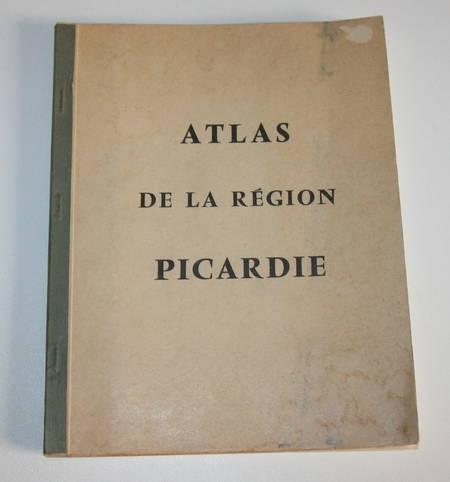 Atlas de la région Picardie - Cartes - Vers 1961 - Photo 1 - livre d'occasion
