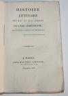 BERINGTON - Histoire littéraire des XIe et XIIe siècles - 1818 - Photo 0, livre rare du XIXe siècle
