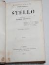 Vigny - Stello - Charpentier - 1841 - Eo de Mademoiselle Sedaine - Photo 1 - livre du XIXe siècle