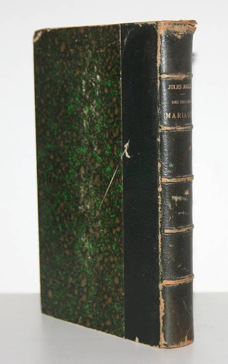 [Droit] Jolly - Les seconds mariages. Etude historique - 1896 - Relié - Envoi - Photo 1 - livre du XIXe siècle