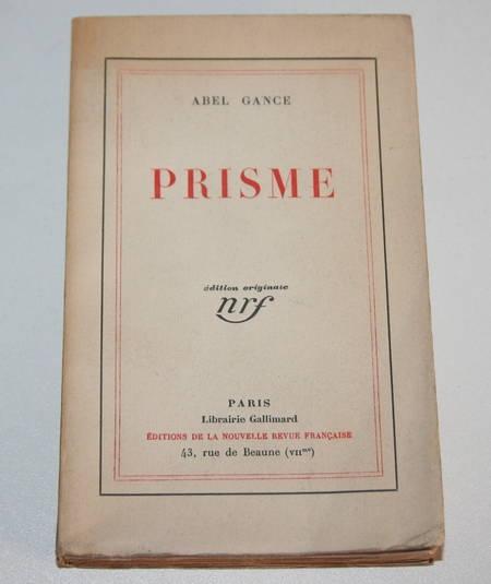 GANCE (Abel) - Prisme - 1930 - Un des 30 ex. hc - EO - Photo 0 - livre de bibliophilie