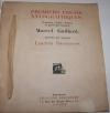 [Gravure sur bois] Marcel Gaillard. Premiers Essais xylographiques - 1919 - Photo 1 - livre moderne