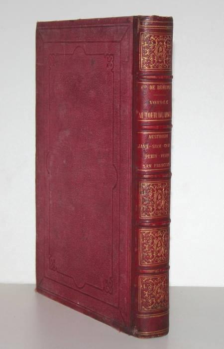 Beauvoir Voyage Australie, Java, Siam, Canton, Pékin, Yeddo, San Francisco 1873 - Photo 1 - livre d'occasion