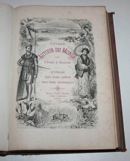 Beauvoir Voyage Australie, Java, Siam, Canton, Pékin, Yeddo, San Francisco 1873 - Photo 3 - livre d'occasion