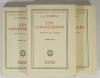 ROUSSEAU (J.-J.) - Les confessions - Bossard - 3 volumes - 1929 - Photo 1 - livre rare
