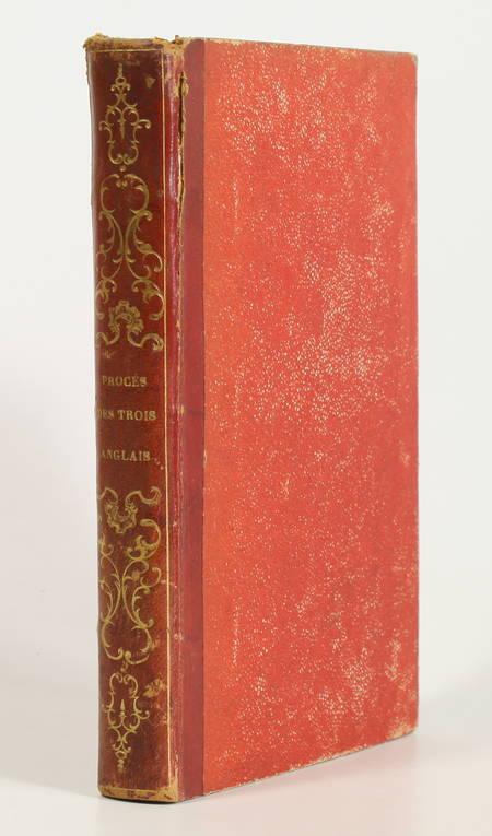 [Empire Restauration] Procès des trois anglais - Evasion de Lavalette - 1816 - Photo 0 - livre romantique