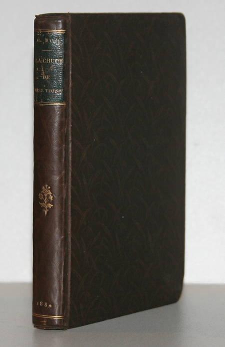 ROD (Edouard) - La chute de Miss Topsy - 1882 - EO - Relié - Photo 1 - livre du XIXe siècle