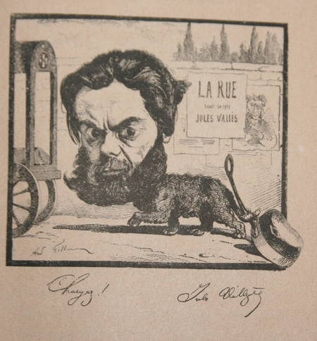 GILL (André). Vingt années de Paris, livre rare du XIXe siècle