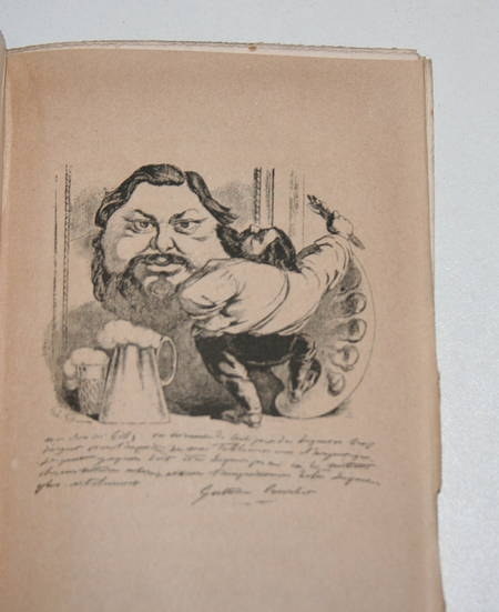 GILL - Vingt années de Paris Avec une préface de Alphonse Daudet 1883 - Gravures - Photo 3 - livre rare