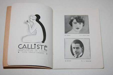 Pelléas et Mélisande - Couverture de Pierre Brissaud - Portraits d'acteurs - Photo 1 - livre moderne