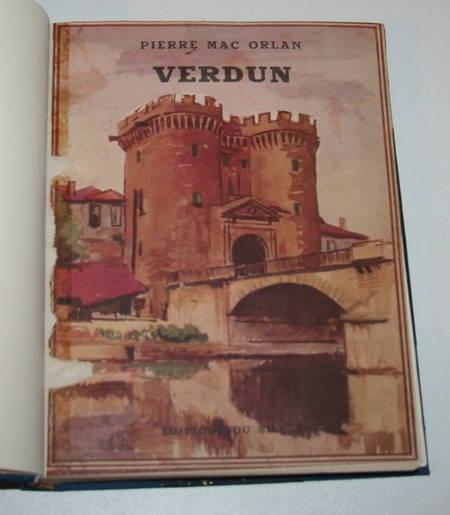 [Guerre de 14-18] Pierre MAC ORLAN Verdun - 1935 - illustré de 73 photographies - Photo 2 - livre du XXe siècle