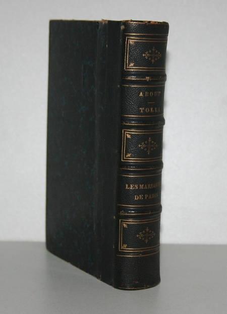 About - Tolla [Relié avec ] Les mariages de Paris - 1856 - Photo 0 - livre de bibliophilie