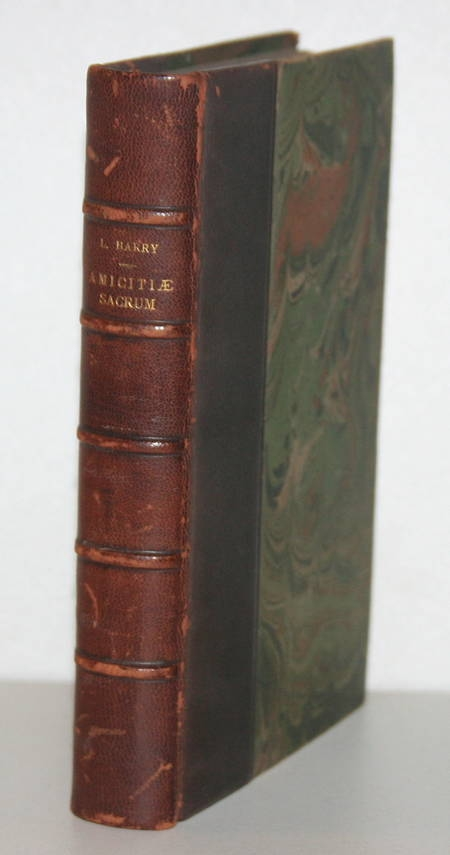 BARRY (Léon) - Amicitiae sacrum - 1908 - Relié - Photo 0 - livre de collection