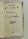 BERVILLE et BARRIERE - Mémoires de Bailly - 1821 - 3 vol. - Reliés - Photo 1 - livre de collection