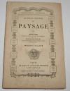 [Dessin Peinture] THENOT - Les règles complètes du paysage - XIXe - Photo 0, livre rare du XIXe siècle