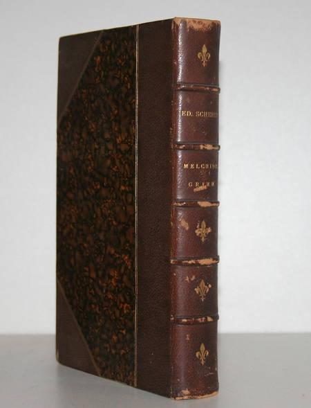 Scherer - Melchior Grimm. L'homme de lettres, le factotum, le diplomate - Envoi - Photo 1 - livre de collection