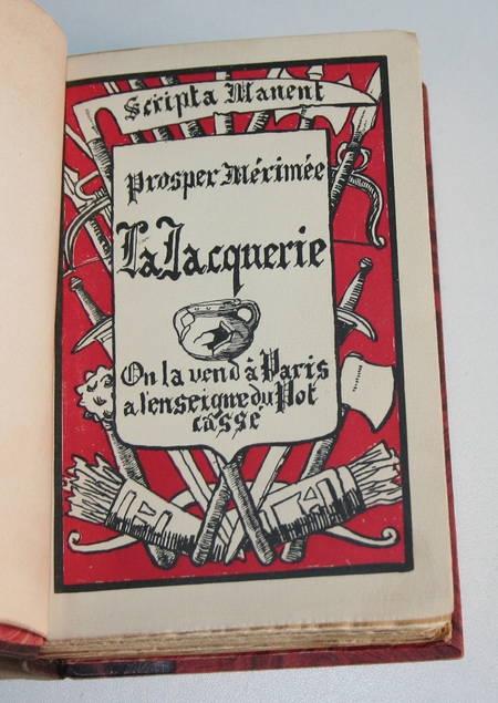 MERIMEE - La jacquerie. Scènes féodales - Pot Cassé - Num - Ill. - Relié 1927 - Photo 0 - livre du XXe siècle