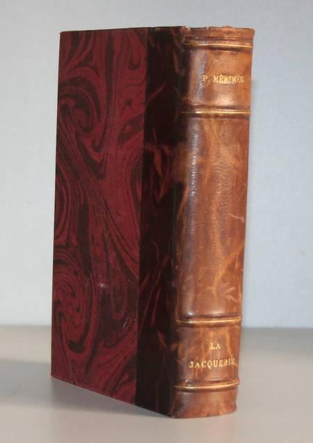 MERIMEE - La jacquerie. Scènes féodales - Pot Cassé - Num - Ill. - Relié 1927 - Photo 1 - livre moderne