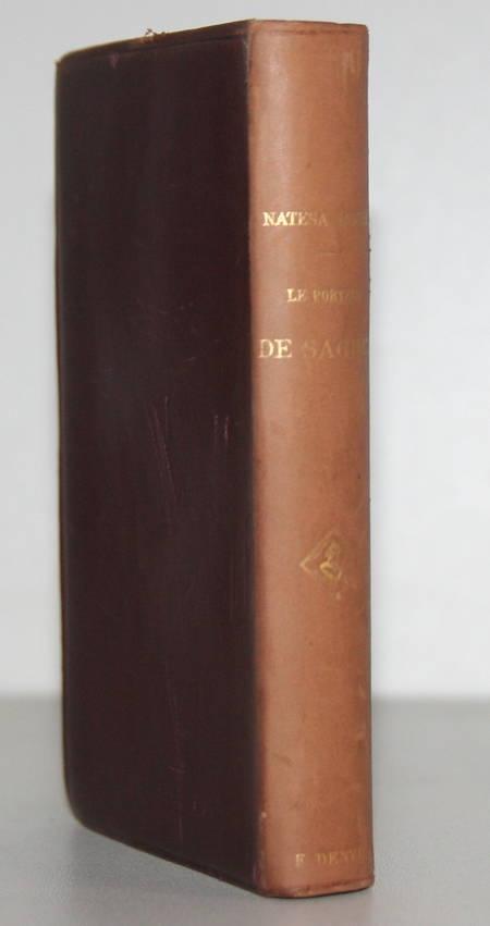 SASTRI (Natesa). Le porteur de sachet, livre rare du XIXe siècle