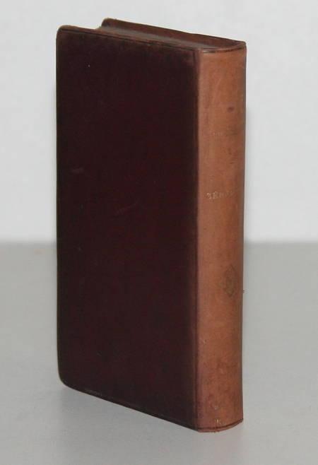NODIER (Charles). Séraphine. Amélie. Jean-François les bas-bleus, livre rare du XIXe siècle
