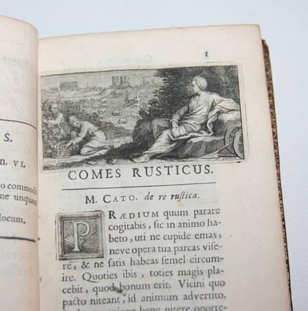 Comes rusticus ex optimis latinae linguae scriptoribus excerptus 1708 - Photo 3 - livre de bibliophilie
