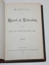 . Manual of the Board of education of the city and county of New-York