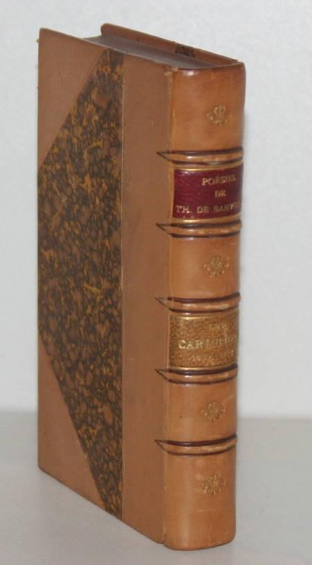 BANVILLE (Théodore de). Poésies. Les cariatides. 1839-1842