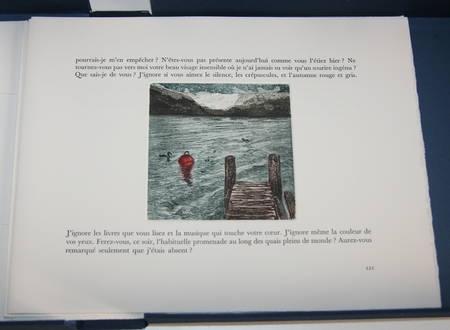 POURTALES - Marins d eau douce - 10 eaux fortes de Joëlle Serve - 1986 - Photo 5, livre rare du XXe siècle