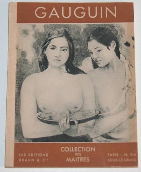 COGNIAT (Raymond). Gauguin
