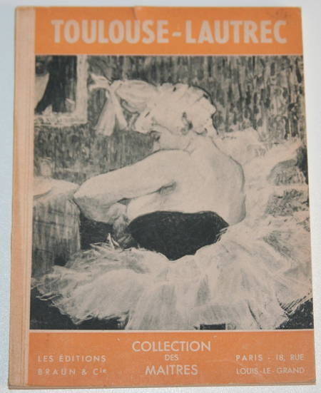 [Peinture] JOURDAIN (Francis) - Toulouse-Lautrec - Illustrations - Photo 0 - livre de bibliophilie