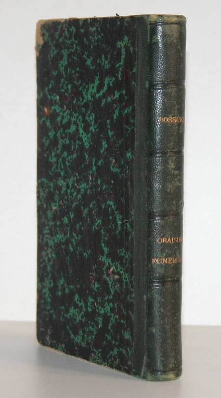 BOSSUET - Les éditions originales des oraisons funèbres - 1877 - Portrait - Photo 1 - livre d'occasion