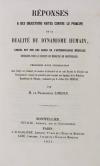 Lordat - Principe de la dualité du dynamisme humain 1854 - Relié - Photo 0, livre rare du XIXe siècle