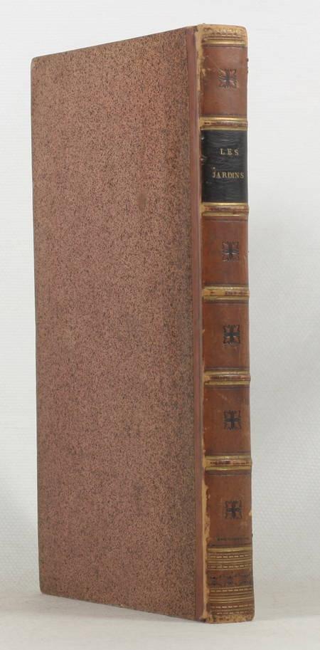 DELILLE - Les jardins ou l'art d'embellir les paysages - 1801 - Reliure signée - Photo 0 - livre de collection
