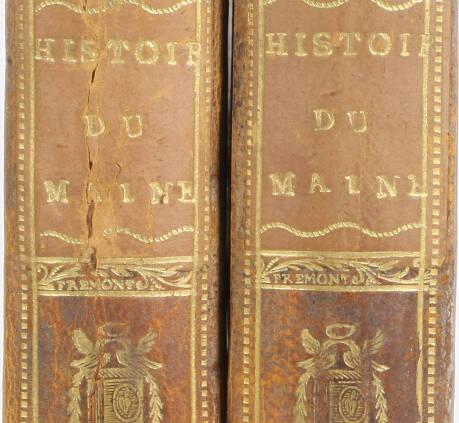 RENOUARD - Essais historiques sur le Maine 1811 Reliure signée du doreur Frémont - Photo 0, livre ancien du XIXe siècle
