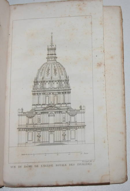 Riveau - Description de l'hôtel royal des Invalides - 1823 - gravures - Photo 0 - livre rare