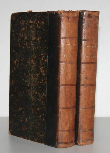 Théâtre d'Euripide - Traduction de Hinstin - 1884 - 2 vol. reliés - Photo 0 - livre rare