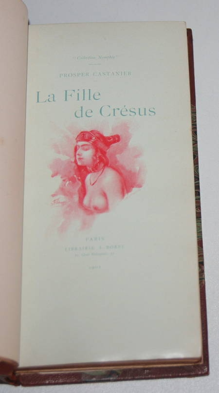 CASTANIER (Prosper) - La fille de Crésus - 1901 - Illustrations de Schmidt - Photo 0 - livre rare