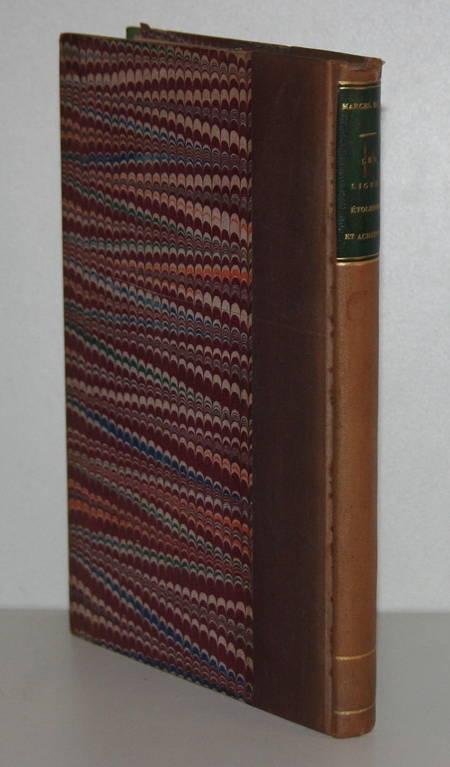 DUBOIS (Marcel) - Les ligues étolienne et achéenne - 1885 - Envoi - Photo 0 - livre de collection