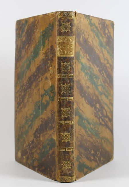DELACROIX - Des moyens de régénérer la France - 1797 - Photo 0 - livre rare