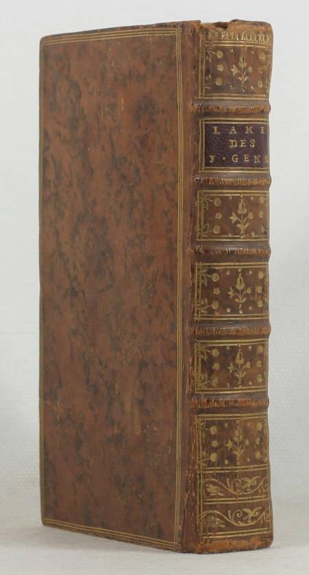 G***** (M.) [GRIVEL (Guillaume)]. L'ami des jeunes gens, livre ancien du XVIIIe siècle