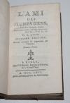 Guillaume GRIVEL  - L ami des jeunes gens. Lille, 1766 - Relié - Photo 1, livre ancien du XVIIIe siècle