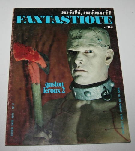 [Cinéma] Midi / Minuit fantastique - n° 24 - Hiver 1970-1971 - Photo 0 - livre moderne