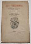 BOULMIER - Les Villanelles  - 1879 - Eau-forte de Lalauze - Photo 1, livre rare du XIXe siècle