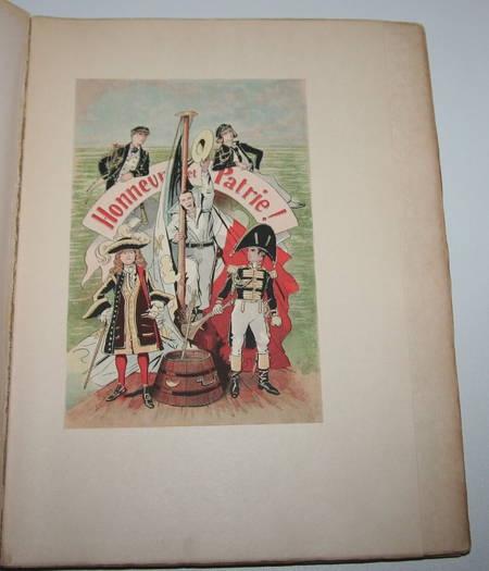 SAHIB - Marins et navires anciens et modernes Croquis humoristiques 1890 / Japon - Photo 2 - livre du XIXe siècle