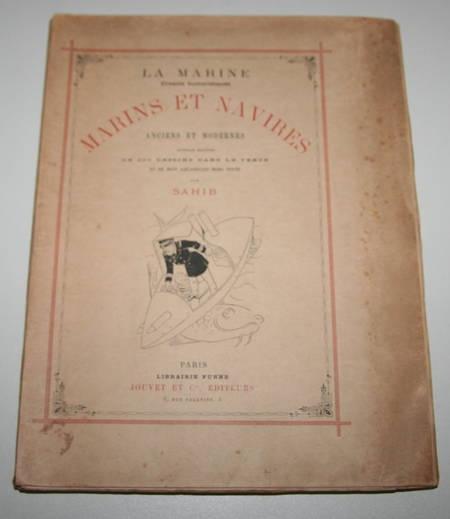 SAHIB - Marins et navires anciens et modernes Croquis humoristiques 1890 / Japon - Photo 3 - livre rare